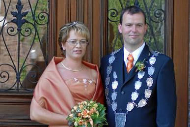 Königspaar Hubert I. und Margret I. Hoffmann