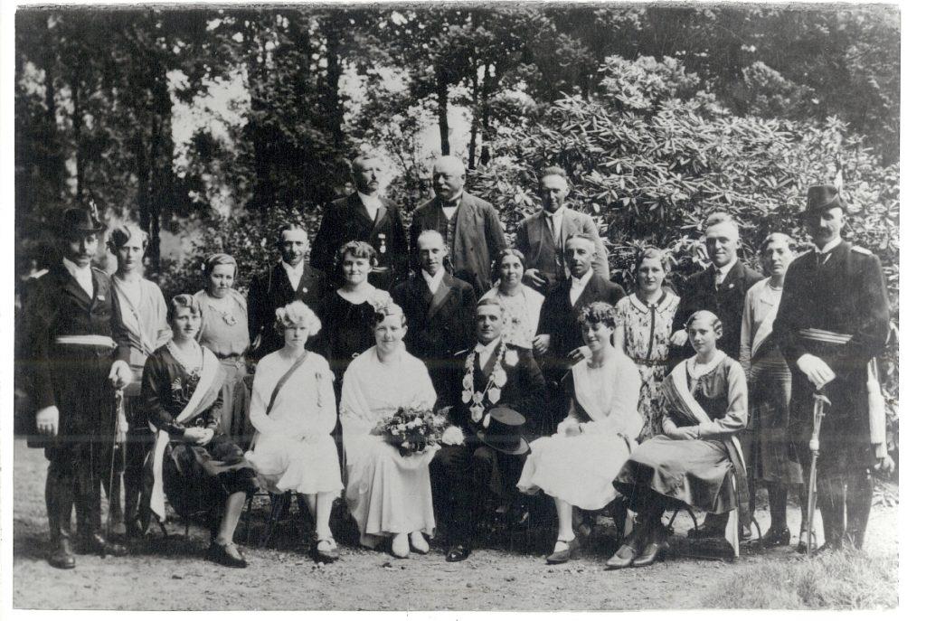 Theodor II. (Kellendonk) und Eugenie I. (Wehren)