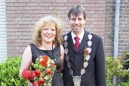 Königspaar Hans-Jürgen I. Hinckers und Hanne I. Haal