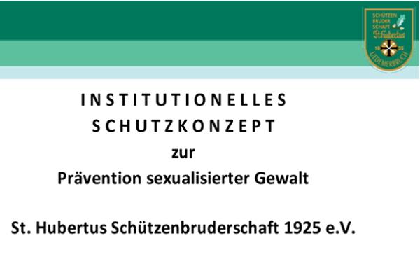 INSTITUTIONELLES SCHUTZKONZEPT (ISK)